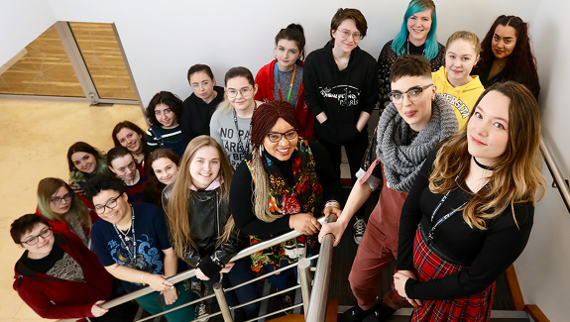 An image relating to Female game devs unite for International Women's Day