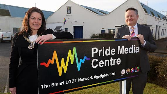 An image relating to UK's first LGBT+ Business and Media Centre launches in Gateshead