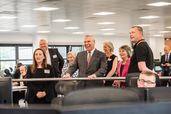 An image relating to HRH The Duke of York opens new technology centre in Gateshead