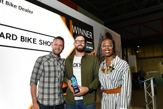 An image relating to Gateshead's Backyard Bikeshop wins national award