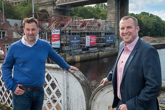 An image relating to Aspire and Adderstone Group partner on Pipewell Quay office development